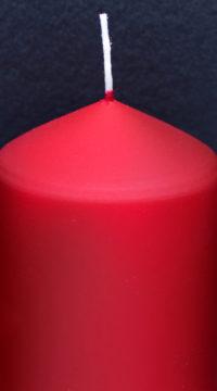 Kerze-rot